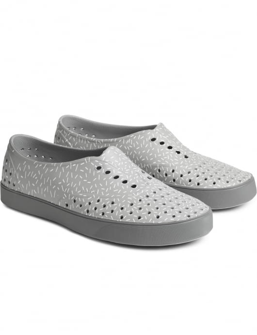 Native Pigeon Grey/Sprinkle Print Miller Shoes