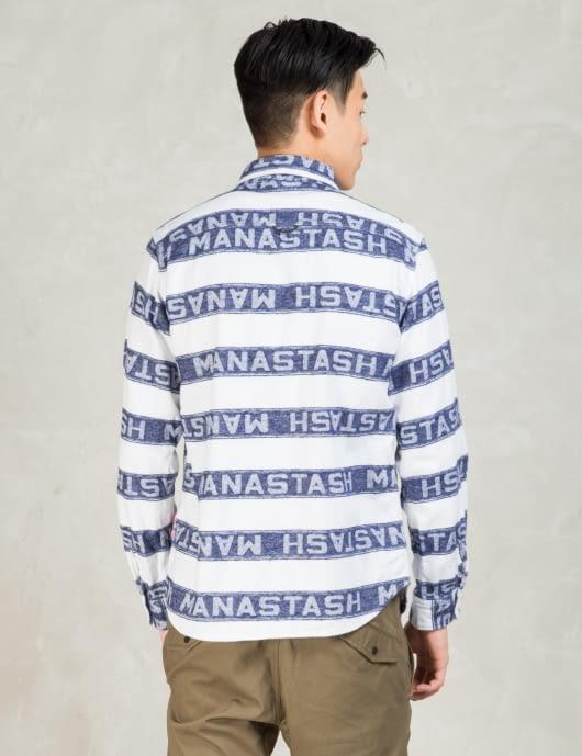 Manastash White L/S Flannel Shirt