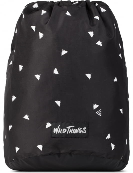 Wild Things Black Sayhello Graphic Backpack
