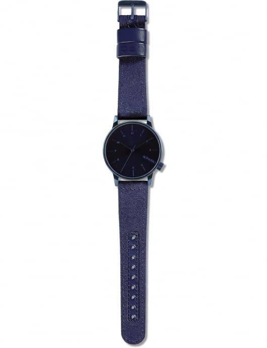 KOMONO Heritage Monotone Blue Winston Watch