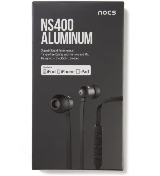 Nocs Black NS400 Aluminum for iOS