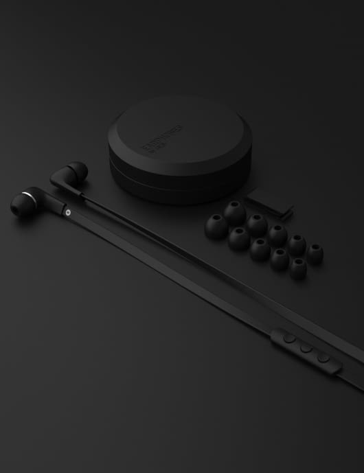 JAYS Black a- Five iOS Headset