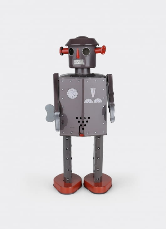 The Tin Industry Giant Atomic Robot Grey