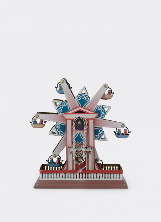 The Tin Industry Tin Toy Star Ferris Wheel