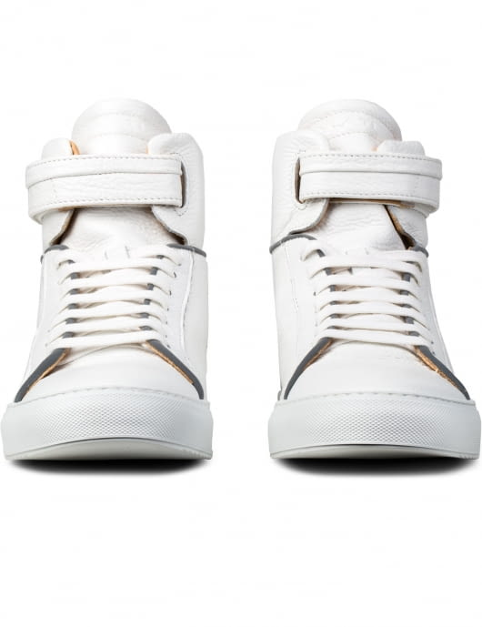 YLATI Amalfi High Top Sneakers with 3m Details