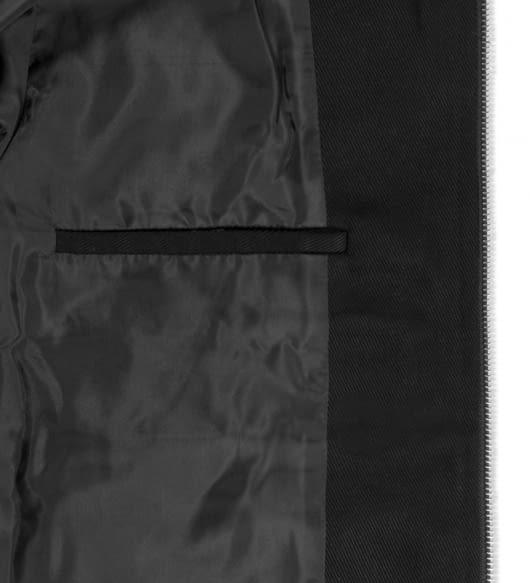 VOLUME 02 Black Burke Flight Jacket