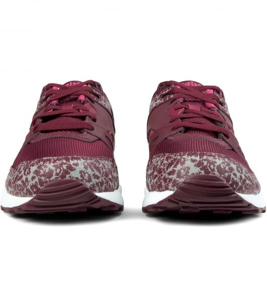 Reebok Burgundy/White/Pink Ventilator Reflective Shoes