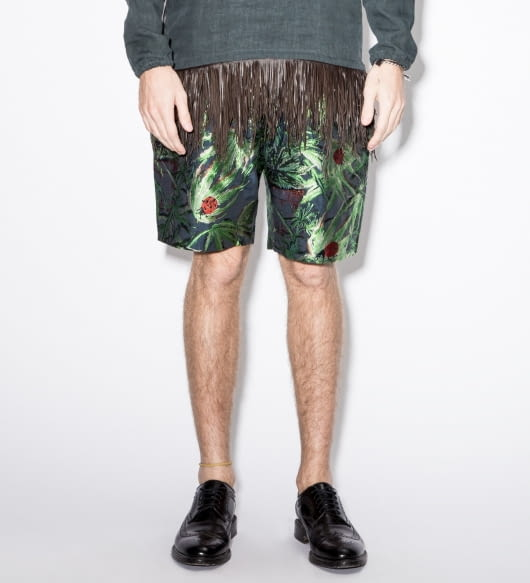 Paul Smith Blue Ladybird Jacquard Shorts