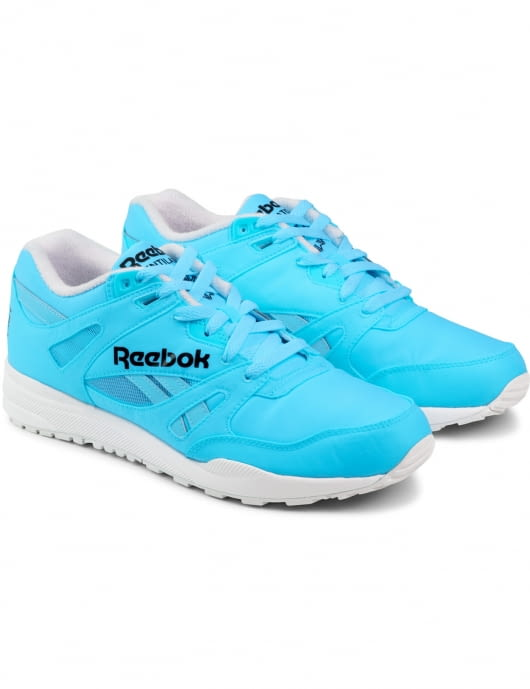 Reebok Neon Blue/White M46608 Ventilator DG Shoes