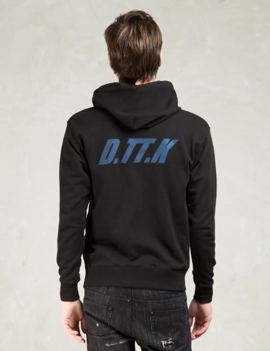 D.TT.K. Black Reflector Print Hoodie