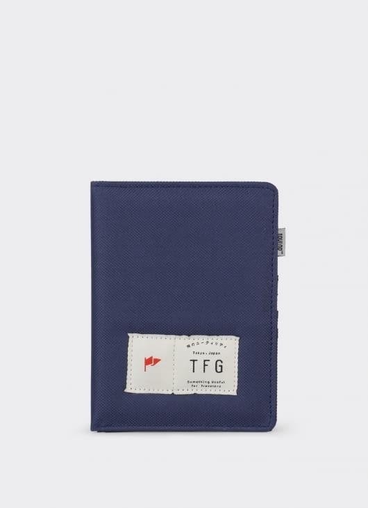 Taylor Fine Goods 403 Blue Wallet Passport