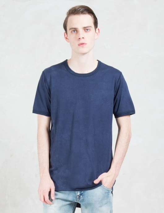 FACTOTUM C/R Overdyed S/S T-Shirt