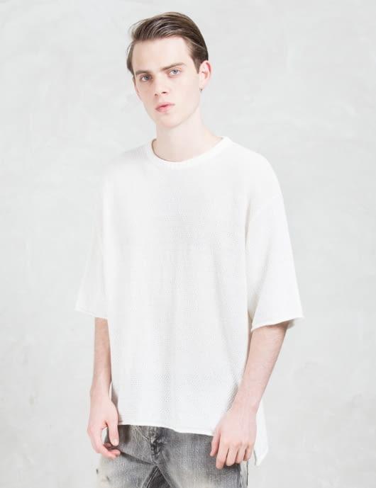 FACTOTUM S/S Cheen Knit Sweater