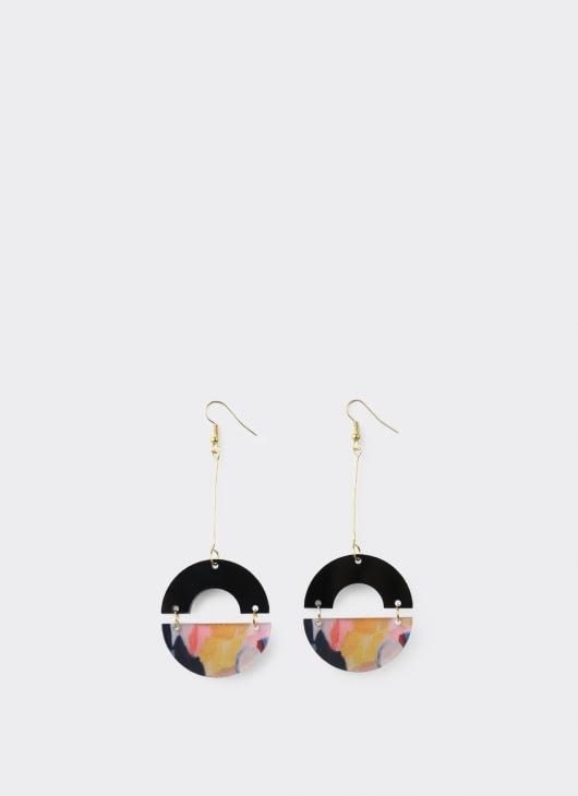 ISTAFADA Circle of Fantasy Earrings