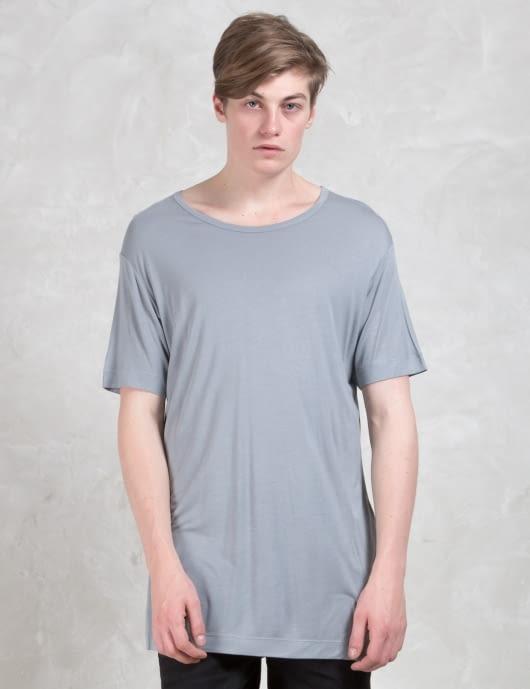 DIESEL BLACK GOLD T-jan-lf Viscose Jersey T-Shirt