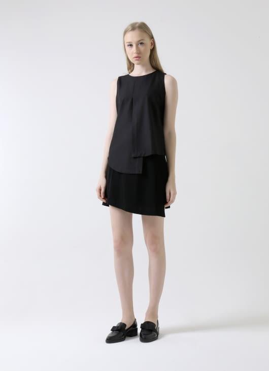 Krom Collective Black Lindsay Skirt