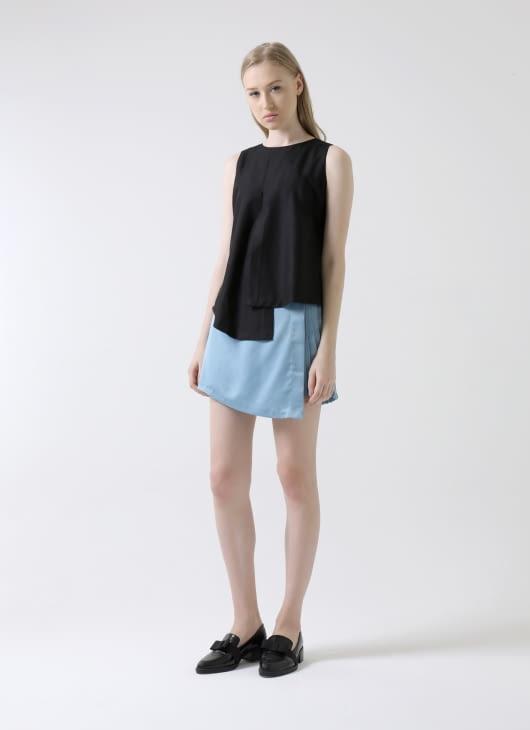 Krom Collective Blue Lindsay Skirt