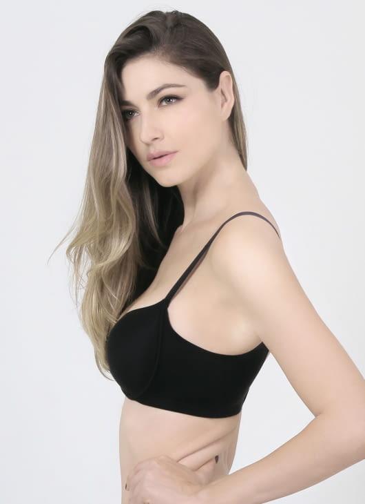 Raquel Lingerie Black Keisha Basic Bra