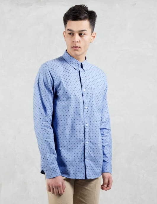 Carhartt WORK IN PROGRESS Polka 313 L/S Oxford Shirt