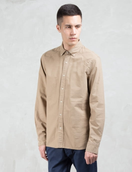 Denham Rhys Oxford L/s  Shirt