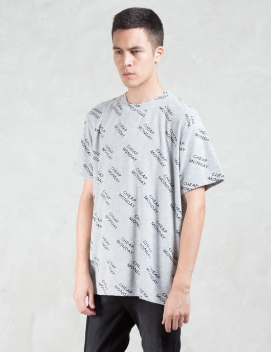 Cheap Monday Schizo Cascade T-Shirt