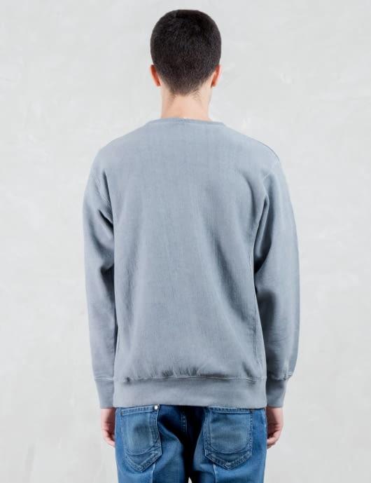VALLIS BY FACTOTUM Tone On Tone Ftmjns Logo Sweatshirt