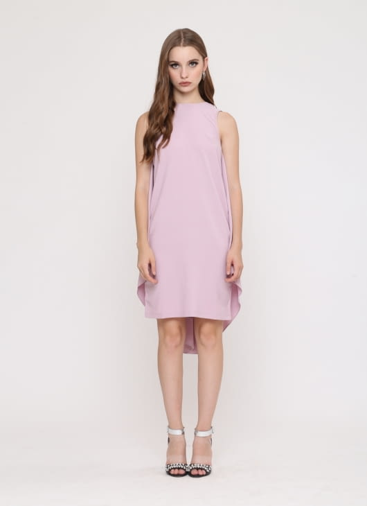 Wearstatuquo Pink Fly Me To The Moon Dress