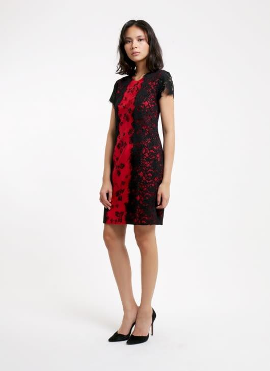 Amanda Hartanto Batik Red Amandari Dress