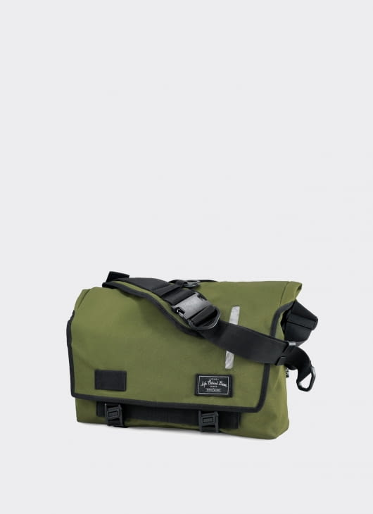 Life Behind Bars Olive Green Echelon Medium Sling Bag