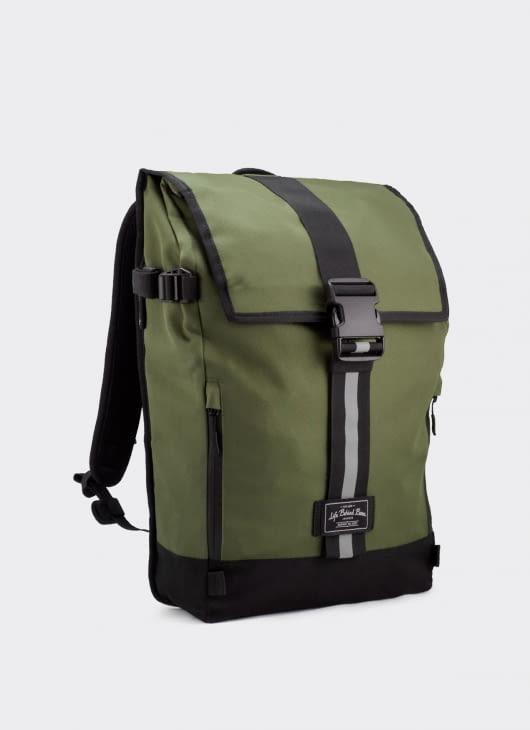 Life Behind Bars Olive Green Breakaway Backpack
