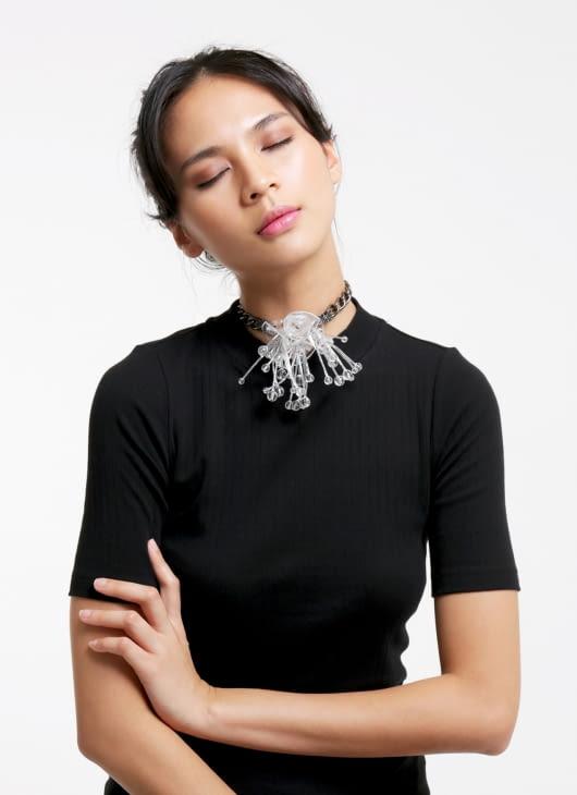 Tam Illi Translucent Chain Halleri Necklace
