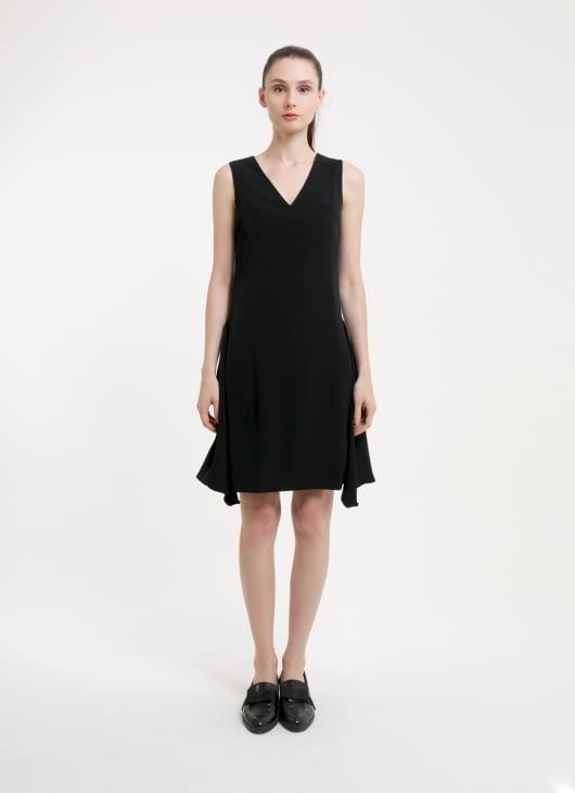 CLOTH INC Black Tanja Dress