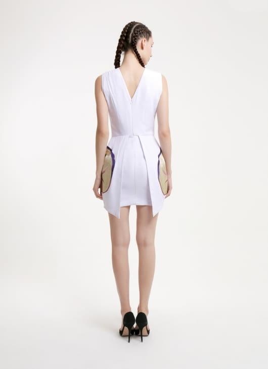 DIBBA White Fawn Loris Dress