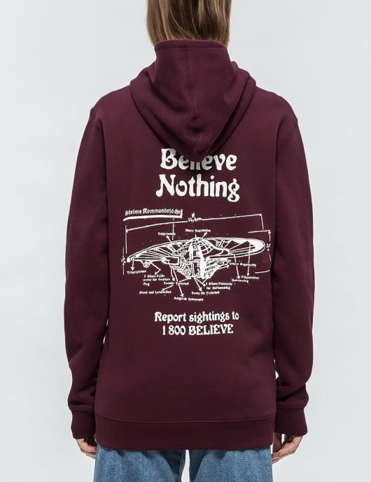 Nothing Believe  Hoodie