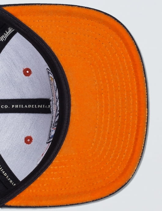 Mitchell & Ness OKC Thunder Solid Velour Logo Snapback