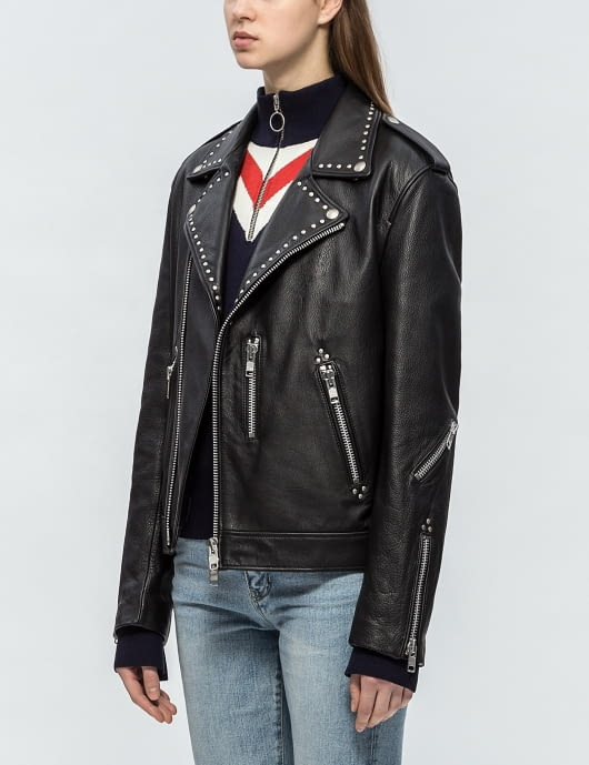 Andersson Bell Unisex Rock Studded Leather Jacket
