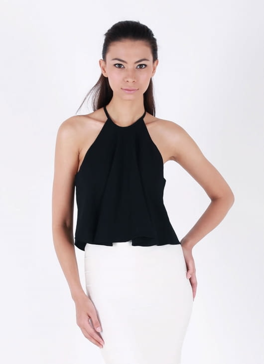 Auria Black 'Swing It' Top
