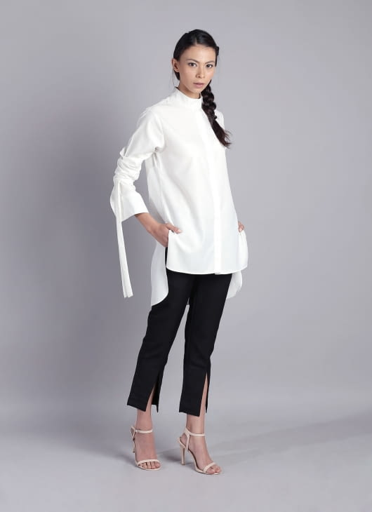 Auria White Skyline Shirt
