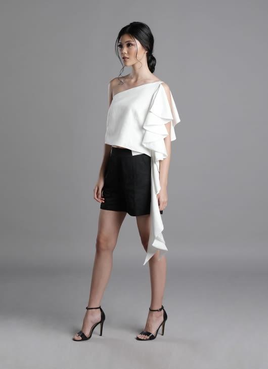 Auria Black Carbon Shorts