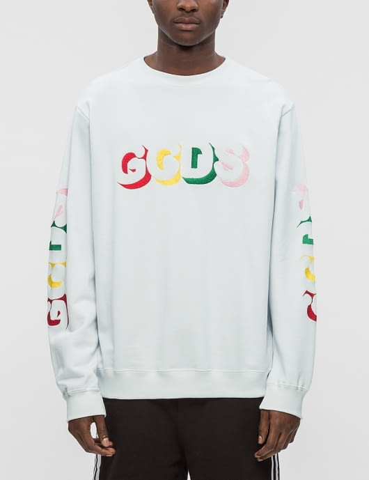 GCDS Colors Crewneck Sweatshirt