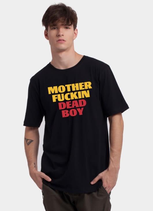 Monstore Black Motherfuckin Deadboy Tee