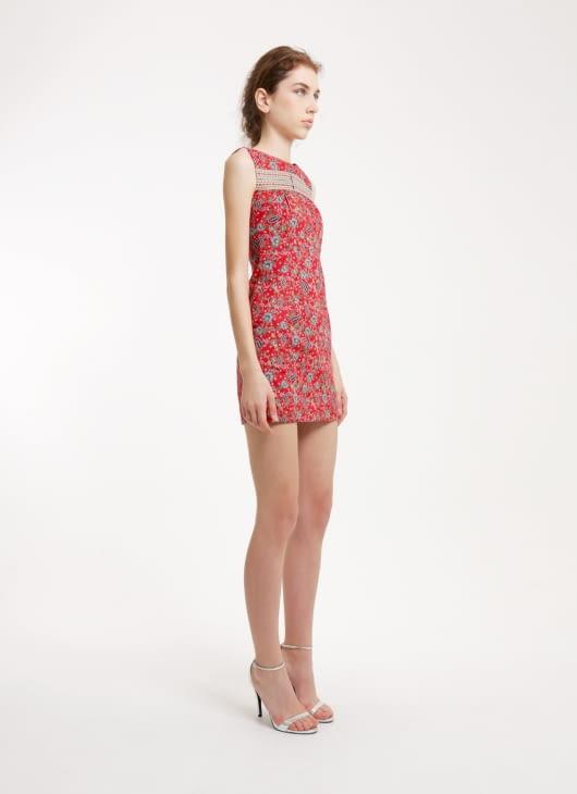 Rianty Batik Valensia Red Batik Dress