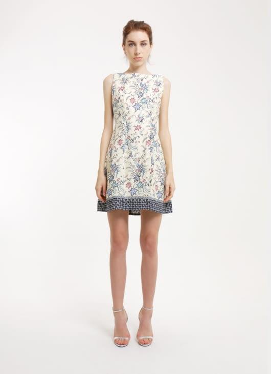 Rianty Batik Blue Imelda Batik Dress