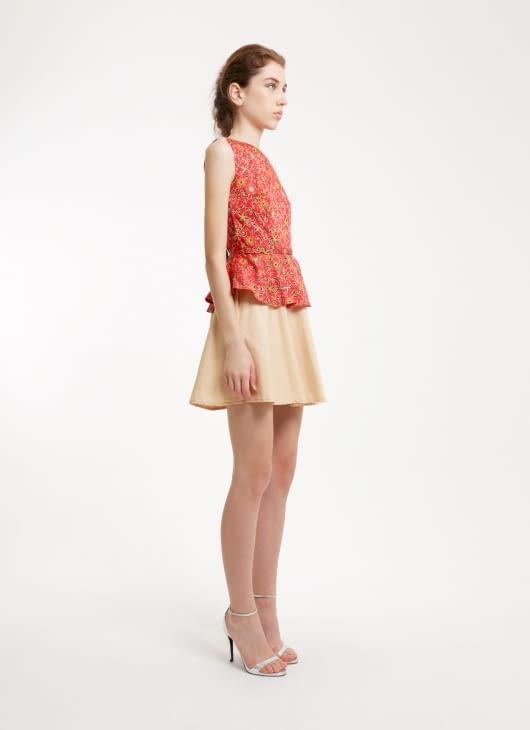 Rianty Batik Red Florense Batik Dress