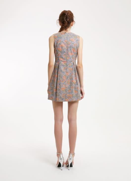 Rianty Batik Gray Kaylee Batik Dress