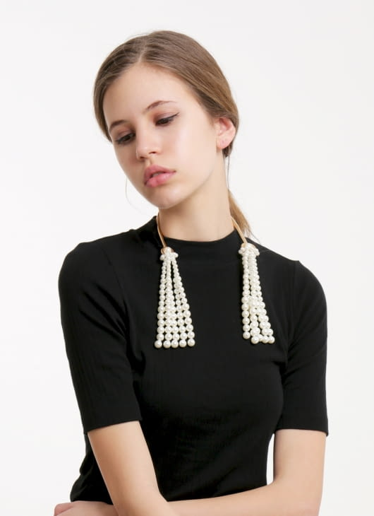 The Theme Cleopatra Pearl Necklace