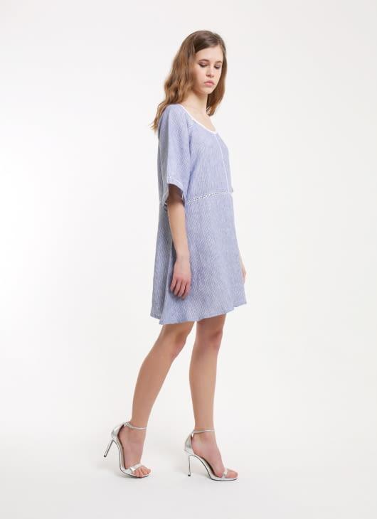 Paulina Katarina Stripes Reginella Dress
