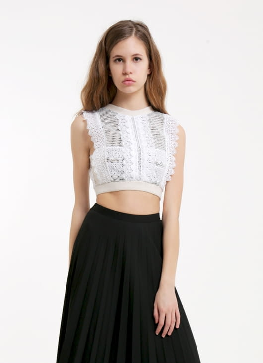 Douche White That Very Night Top