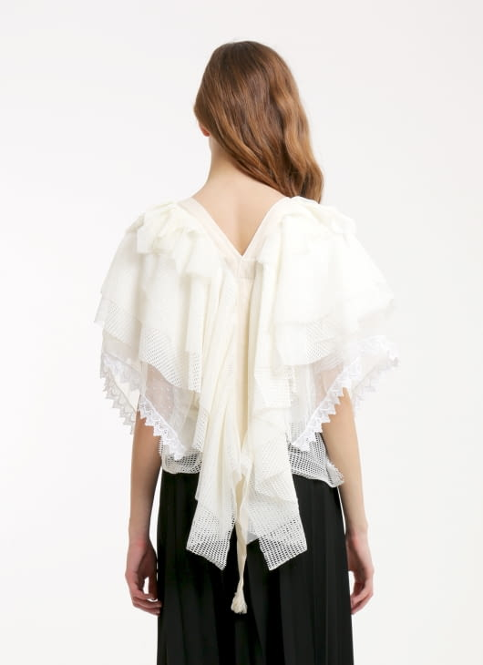 Douche White Janis Top