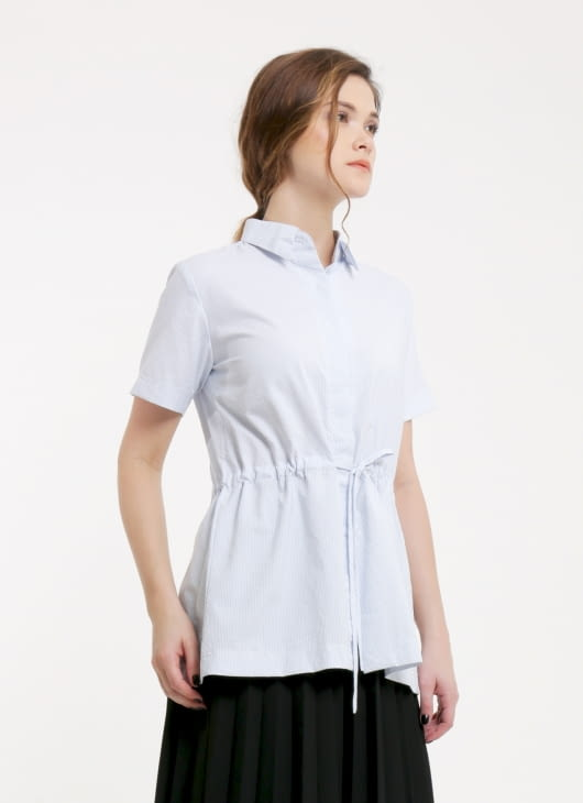 Renoir Blue Stripes Vera Shirt